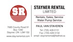 Stayner Rental Ltd